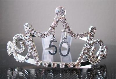 Party Rhinestone Tiara Crown