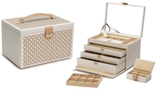 50th Birthday Gifts for Women Chloe Large Jewelry Box