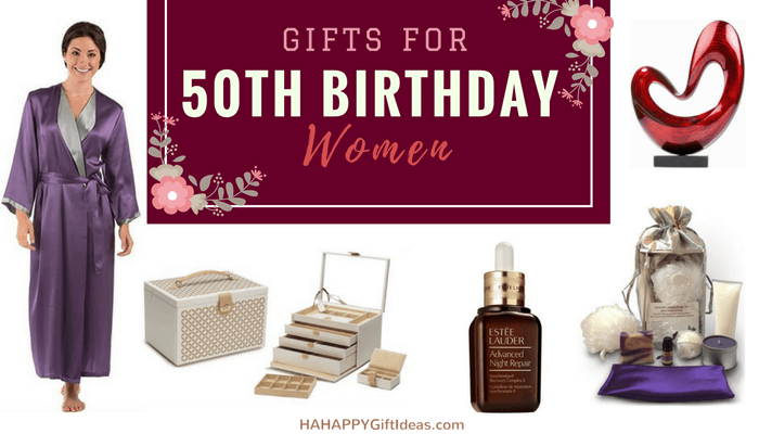 16 Best Gift For A Woman On Her 50th Birthday Your Mom Wife Or Sisters