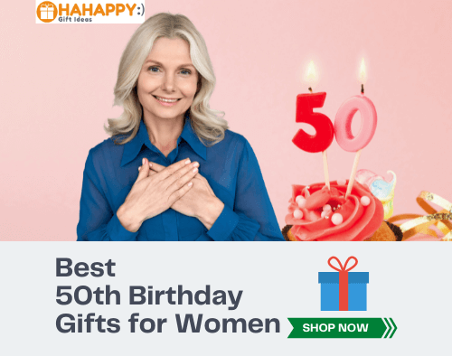Best 50th Birthday Gifts for Women (Time-Saving List For You)