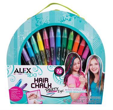 ALEX Spa Hair Chalk Party 2 Go