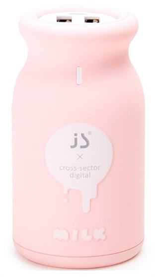 JS Portable Charger 10000mAh Dual USB
