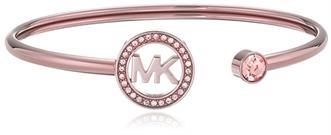 Michael Kors Sable MK Logo Flex Cuff Bracelet