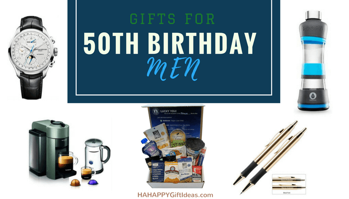 gifts for a 50-year-old man