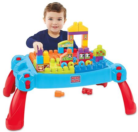 Best Gifts For A 2-Year-Old Boy Mega Bloks Build and Learn Table Building Set