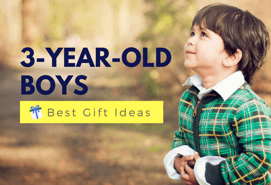 Best Gifts For A 3-Year-Old Boy