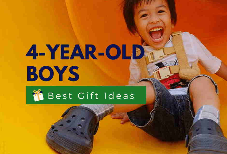 Best Gifts For A 4-Year-Old Boy