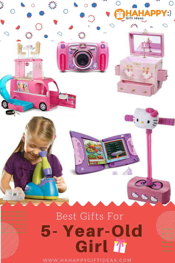 Best Gifts For a 5-Year-Old Girl