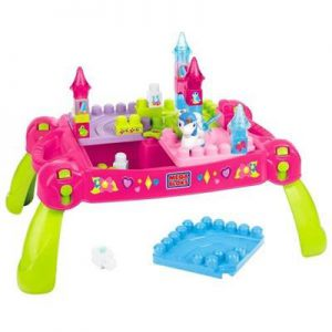 Mega Bloks Lil Princess Play N Go Fairy Table