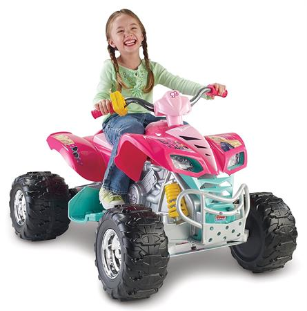 Best Gifts For A 3-Year-Old Girl Power Wheels Barbie Kawasaki KFX