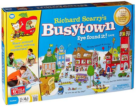 Best Gifts For A 3-Year-Old Girl Wonder Forge Richard Scarrys Busytown
