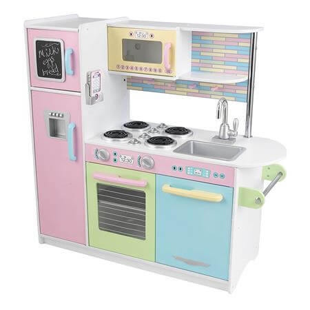 Best Gifts For A 4 Year Old Girl KidKraft Uptown Pastel Kitchen Playset