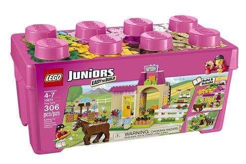 Best Gifts For A 4 Year Old Girl LEGO Juniors 10674 Pony Farm
