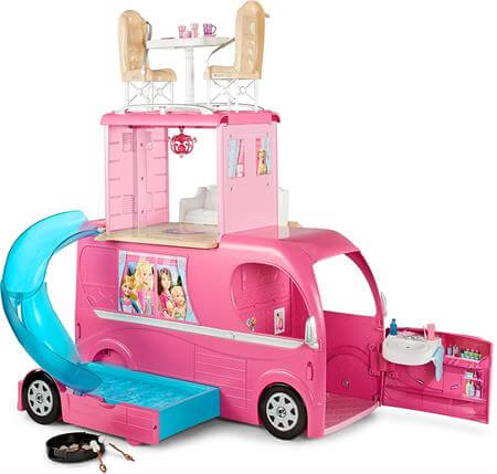 Best Gifts For A 5 Year Old Girl Barbie Pop-Up Camper Vehicle