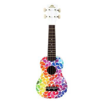Best Gifts For A 5 Year Old Girl Honsing Soprano Ukulele Colorful Painting Hawaii Guitar