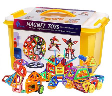 Best Gifts For a 3-Year-Old Boy GLOUE Magnetic Building Set
