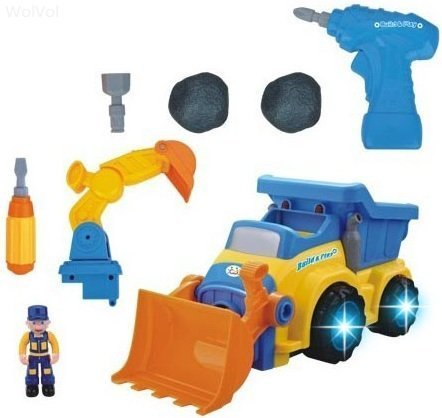 Best Gifts For a 3-Year-Old Boy WolVol 3-in-1 Construction Truck Toy