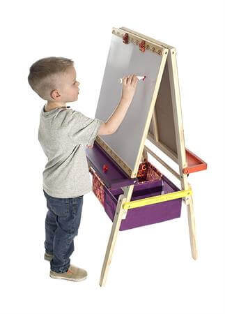 Best Gifts For a 5-Year-Old Boy B Toys Easel Does It Wooden Art