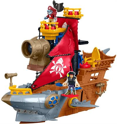 Best Gifts For a 5-Year-Old Boy Fisher-Price Imaginext Shark Bite Pirate Ship