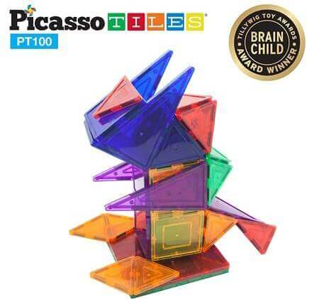 Best Gifts For a 5-Year-Old Boy PicassoTiles Magnetic 3D Building Blocks