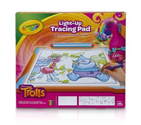 Crayola Light Up Tracing Pad Trolls