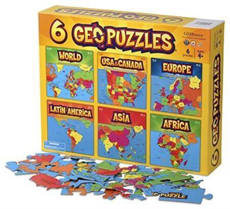 Geotoys 6 GeoPuzzles