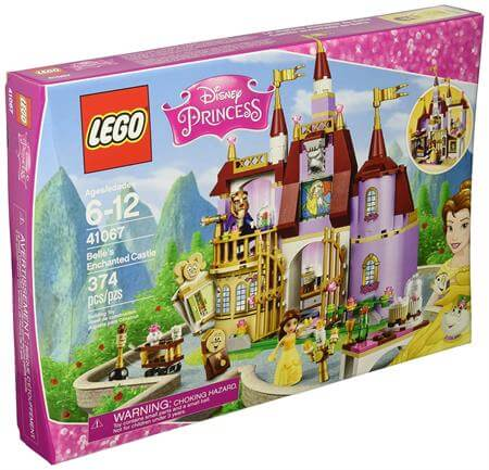 LEGO Disney Princess Belle Enchanted Castle Building Kit