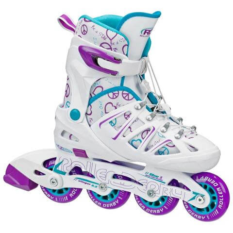 Roller Derby Girl Stinger Adjustable Inline Skate