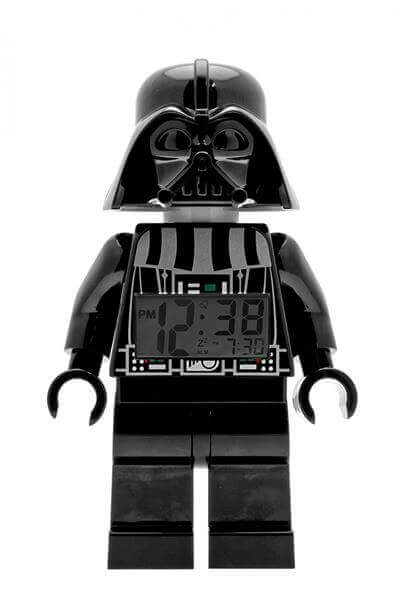Star Wars Darth Vader Mini-Figure Light Up Alarm Clock