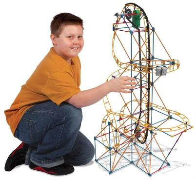 KNEX Vipers Venom Roller Coaster Building Set