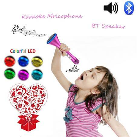 Kids Microphone Karaoke Machine