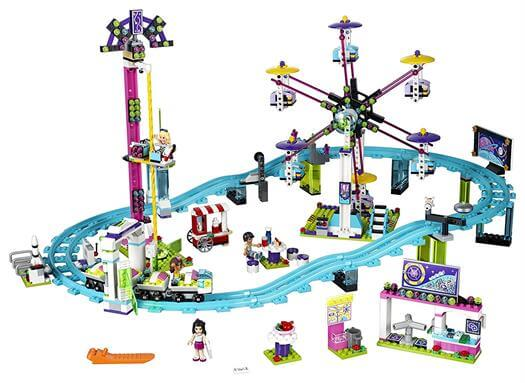 LEGO Friends 41130 Amusement Park Roller Coaster Building Kit