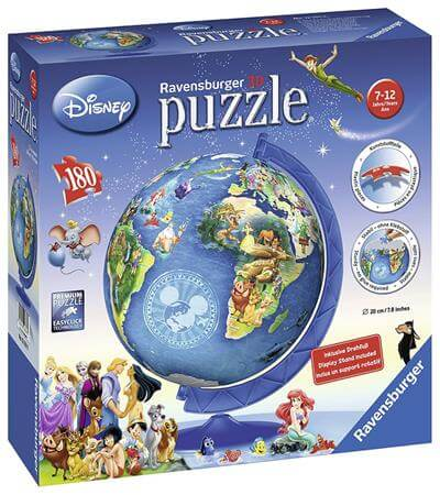 Ravensburger Disney Globe 3D Puzzle Ball