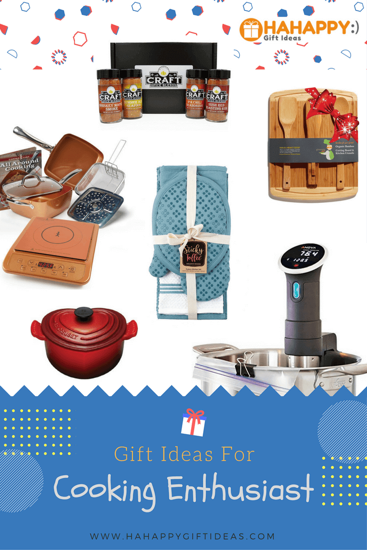 Gift Ideas For The Cooking Enthusiast Hahappy Gift Ideas
