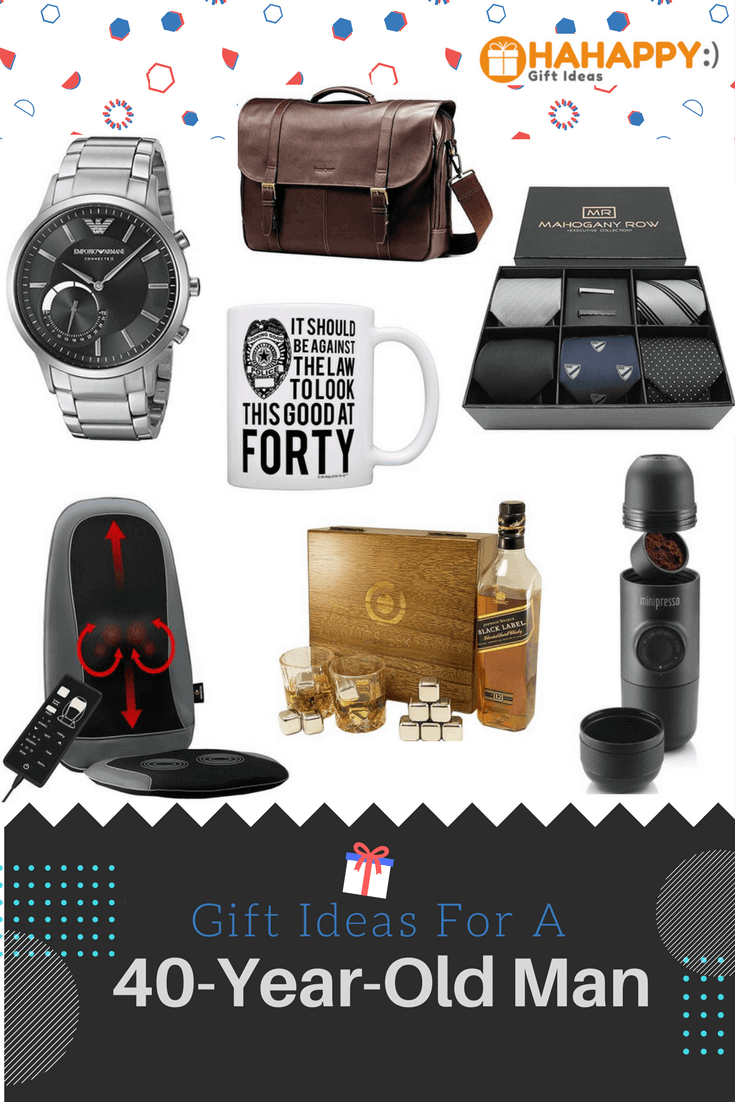 Gift Ideas For A 40-Year-Old Man