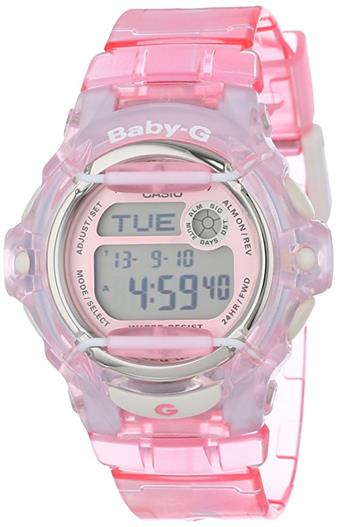 Casio BG169R-4 Baby-G Pink Whale Digital Sport Watch