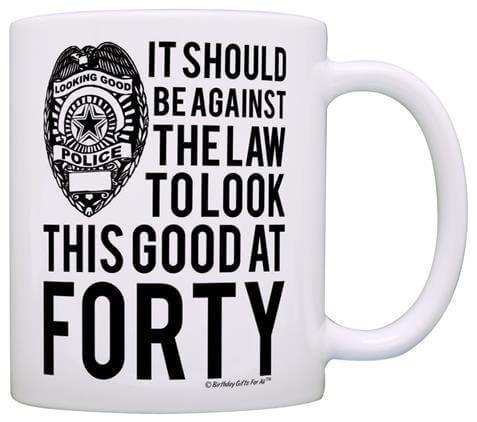 Funny Forty Coffee Mug