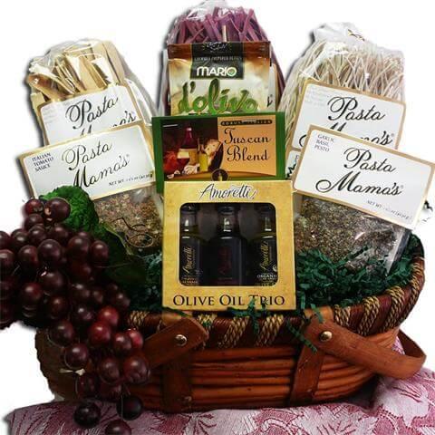 Grand Italian Pasta Feast Gourmet Food Gift Basket