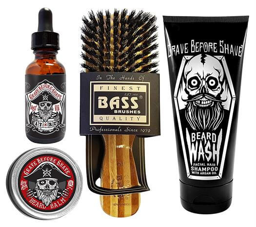 Grave Before Shave Beard Care Pack