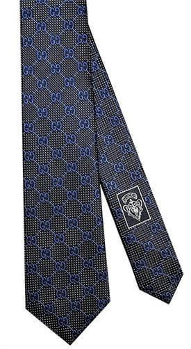 Gucci DeieneGG Slim Woven Italian Silk Tie