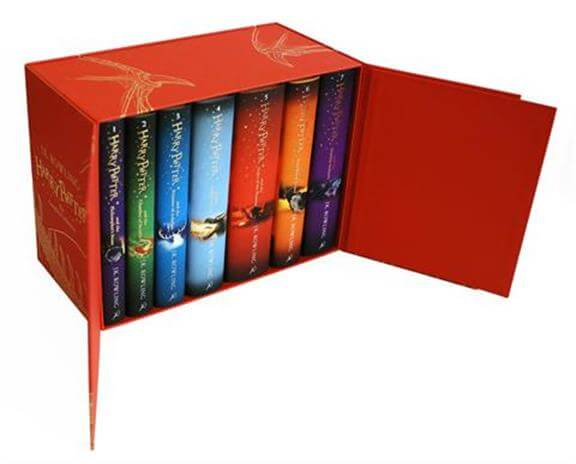 Harry Potter Complete Collection 7 Books Set