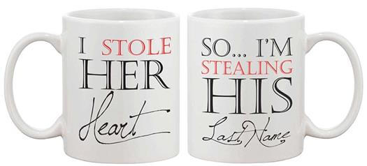 Matching Coffee Mug Cup Set