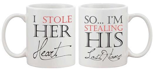 Matching Coffee Mug Cup Set