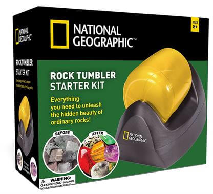 National Geographic Rock Tumbler Starter Kit