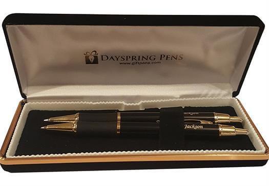 Personalized Monaco Black Gift Pen