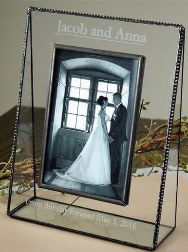Personalized Wedding Engagement Photo Frame