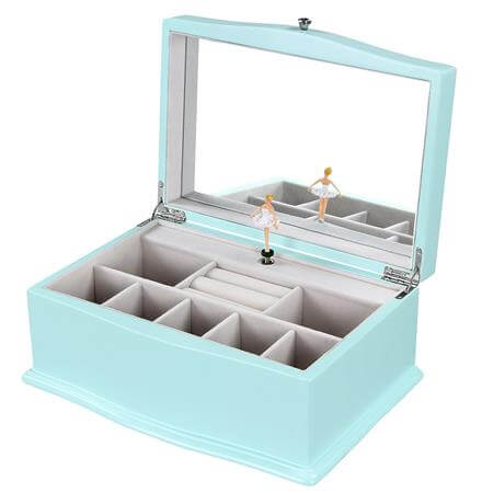 SONGMICS Girls Music Jewelry Box