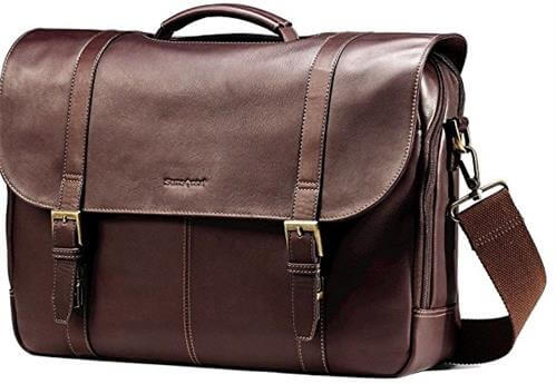 Samsonite Colombian Leather Messenger Bag