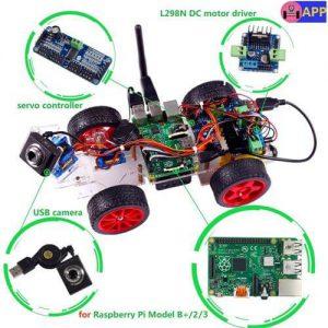 SunFounder Model Car kit Video Camera