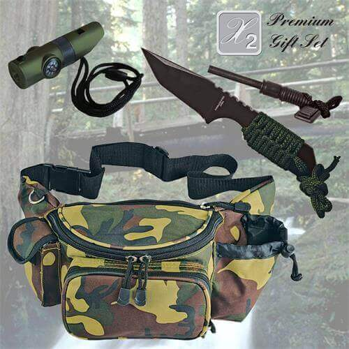 Survival Whistle Gift Set